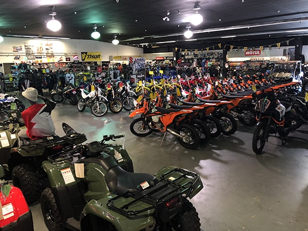 Santa Barbara Motorsports Showroom Floor